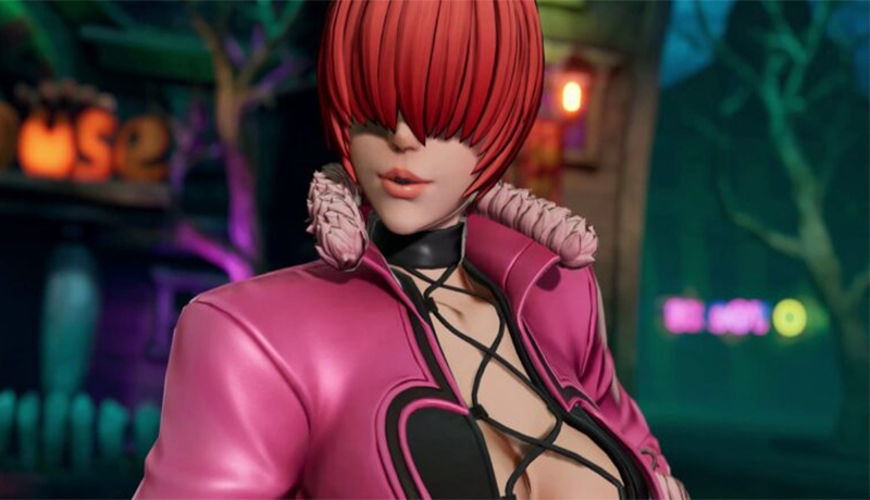 Shermie llegará a King of Fighters XV
