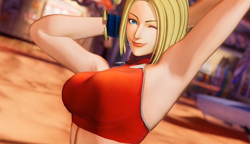 Blue Mary llegará a King of Fighters XV