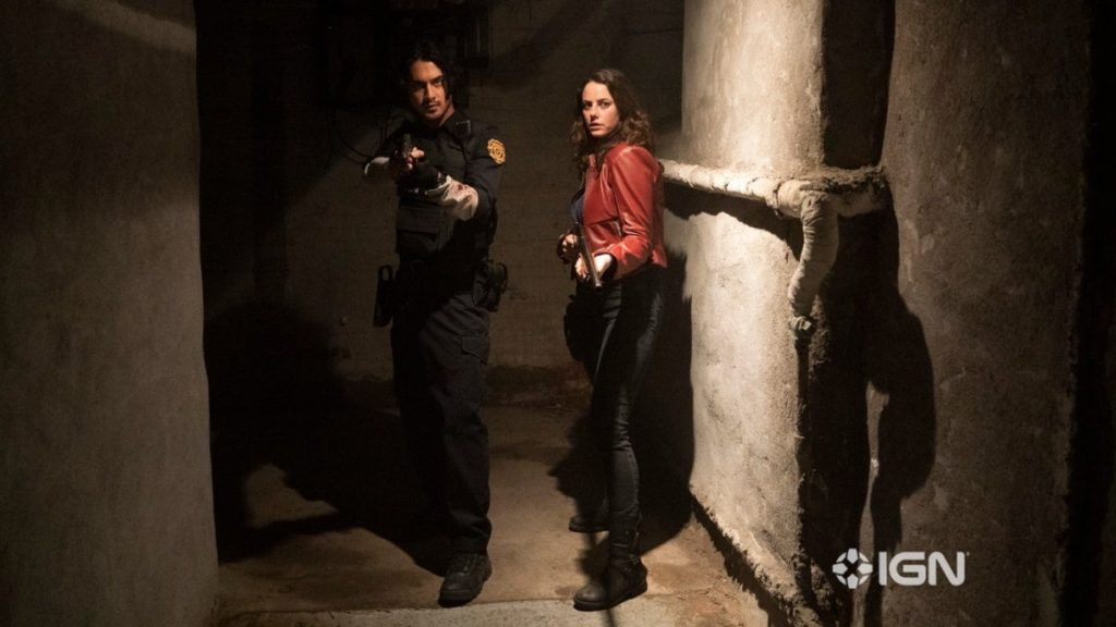 Resident Evil: Welcome to Raccoon City Claire y Leon